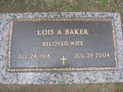 Lois A. <i>Cravens</i> Baker