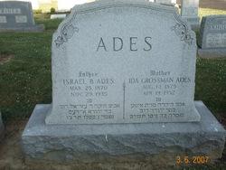 Ida <i>Grossman</i> Ades