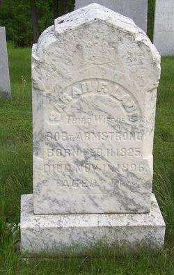 Sarah F <i>Ladd</i> Armstrong