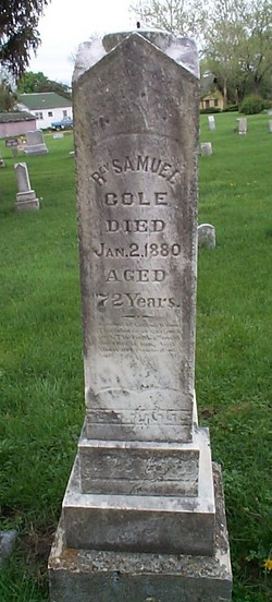 Rev Samuel Cole