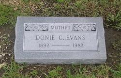Donie <i>Carlisle</i> Evans