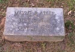 Mayme Belle <i>Vest</i> Atlee
