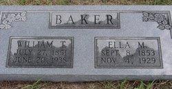 Ella M Baker