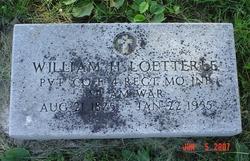 Pvt William H Loetterle