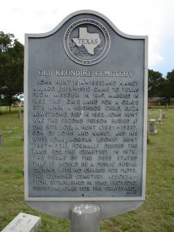 Old Klondike Cemetery