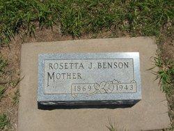 Rosetta Jane <i>Charles</i> Benson