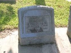 Mary Catherine <i>Ellis</i> Fulford