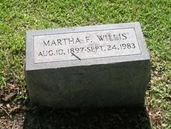 Martha Shackleford <i>Fulford</i> Willis
