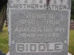 Adaliza <i>Bourie</i> Biddle