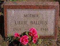 Edith Lillie <i>Smith</i> Baldus