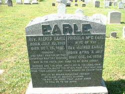Rev Alfred Earle