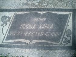 Regina <i>Picha</i> Kafka