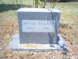 Minnie G <i>Holman</i> Willard