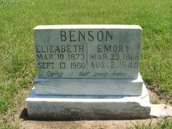 Elizabeth Benson