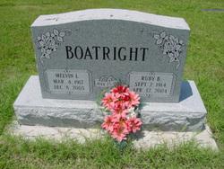 Ruby Beatrice <i>Martin</i> Boatright