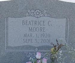 Beatrice Margo <i>Croft</i> Moore