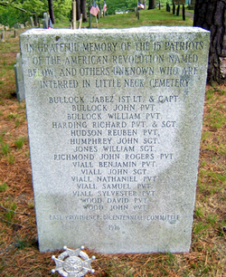 15 Patriots Memorial