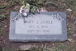 Johanna Maria Mary <i>Benad</i> Johle