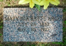 Mary Ida <i>Batte</i> Argo
