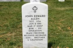 Sgt John Edward Allen