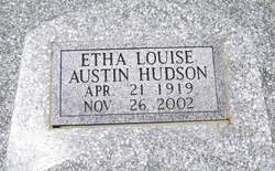 Etha Louise <i>Austin</i> Hudson