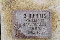 3 Infants Bell