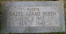 Hazel <i>Burda</i> Adams