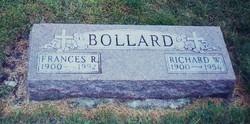Frances Ruth Fannie <i>Collins</i> Bollard