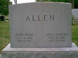 Alice Manning <i>Osburn</i> Allen