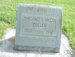 Margaret V. <i>Wilcox</i> Miller