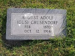 August Adolf <i>(Gus)</i> Grusendorf