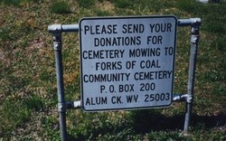 Forks of Coal Community Cemetery