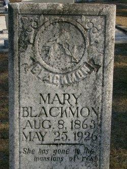Mary <i>Gay</i> Blackmon
