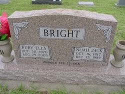 Ruby Ella <i>Womack</i> Bright