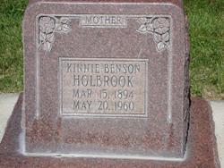 Kathinka Kinnie <i>Benson</i> Holbrook