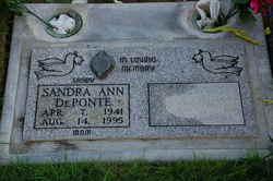 Sandra Ann <i>Marsh</i> De Ponte