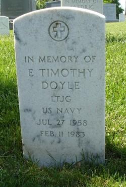 LTJG E. Timothy Doyle