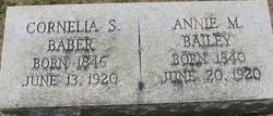 Annie M. Bailey
