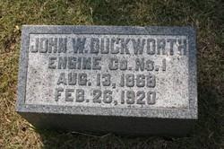 John W Duckworth