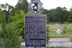Black Jack Springs Cemetery