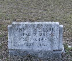 Annie E. Ma Clark <i>Shows</i> Clark