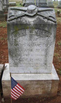 Lieut William Walter Buck