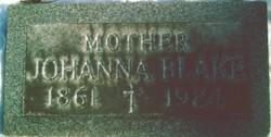 Johanna Mary <i>Kelly</i> Blake