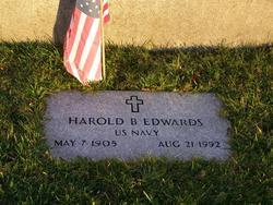Harold B Edwards