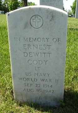 Lieut Ernest DeWitt Cody