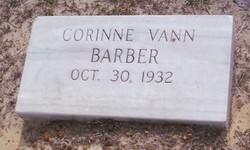 Corinne <i>Vann</i> Barber