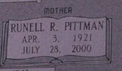 Runell R. <i>Pittman</i> Camp