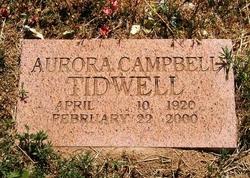 Aurora <i>Campbell</i> Tidwell