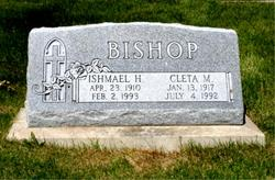 Cleta Maude <i>Allison</i> Bishop