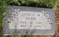 Ernest W Dupre